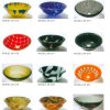 Sales chaud Round Shape Glass Basin pour Bathroom