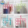 Lenço Hangers de Shape Hangers do círculo com Holes