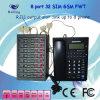 8 포트 32 Sims GSM 조정 무선 맨끝