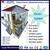 Casa modular de aço clara comercial do ISO
