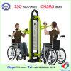 Инвалид тела вытягивают стул строя напольное оборудование пригодности