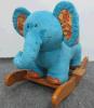 Balancim de balanço do Animal-Elefante da fonte da fábrica