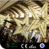 Kundenspezifisches Handelsweihnachtsgroße hängende Stern-Lichter für Einkaufszentrum-Dekoration
