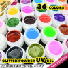 Gel ULTRAVIOLETA del color del brillo del kit del gel del color de los colores 5ml de #40218c Gdcoco 36