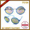 A forma a mais atrasada de 2016 mulheres do frame redondo pequeno das amostras livres de China dos óculos de sol por atacado de China