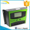 時間制御Ld50bを表示するLCDが付いている最大PVの入力1200Wのための50A 12V/24Vの太陽電池パネルの料金のコントローラ