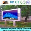 Visualización de pantalla publicitaria a todo color al aire libre de P6 LED