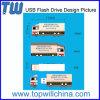 Schnelle Produktions-Zeit des Firma-eindeutige fördernde Produkt USB-Daumen-Laufwerk-Flash-Speicher-2GB 4GB 8GB 16GB 32GB