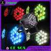 DMX 단계 동위 64 LED 18X18W 6in1 DJ 점화
