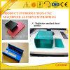 Perfis de alumínio anodizados Multicolor com as peças de alumínio Process profundas do CNC