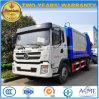 Shacman 12 тонны выжимк собирает и транспортирует тележку отброса Compactor Cbm тележки 12