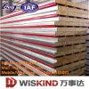 ISO9001の耐火性の岩綿サンドイッチパネル、熱絶縁体サンドイッチパネル