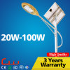 alumbrado público al aire libre solar del poste 30W LED de la lámpara de los 6m