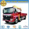 Auman 3개의 차축 판매를 위한 기중기를 가진 트럭 10 톤