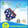 Förderndes weiches Gummikurbelgehäuse-Belüftung Keyholder/Schlüsselketten-Halter für das Bekanntmachen der Geschenke