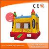 Geburtstag-Kuchen-aufblasbarer springender Prahler für Verkauf T1-222