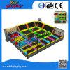 Terrein van de Stof van de Trampoline van Dodgeball van Kidsplayplay het Bedrijven voor Volwassene