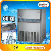 Fabricante de gelo comercial/máquinas de fatura de gelo industriais (60kg/day)