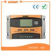 O USB dobro de Suoer coneta o controlador solar impermeável do carregador de 12V 10A (ST-C1210)