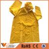 Polyester-wasserdichte Breathable Regen-Mantel-Plastikregenmäntel 100%