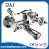 クロム亜鉛ハンドルの真鍮の標準的な二重ハンドルの浴室のコック(BSD-9103)