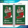 Weihnachten, das dekorative im Freienflugwesen-Straßen-Markierungsfahne (T-NF02F06026, bekanntmacht)