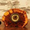 Exuisite ha intagliato piccola Bell Handmade di legno naturale