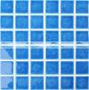 48X48mm de Blauwe Ceramische Tegel van het Mozaïek met de Barsten van het Ijs (BCK663)