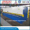 QC11Y-6X6000 hydraulischer Typ Guillotine Scher- und Ausschnittmaschine