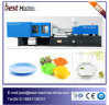 Fruit en plastique Plate Injection Making Machine pour Customized