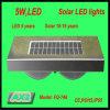 Lâmpada portátil da indução do sensor da potência Fq-746 solar, luz do jardim do diodo emissor de luz