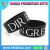 Braceletes de borracha personalizados do silicone do Wristband dos braceletes da amizade do estilo novo