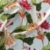 Impression de CDC de soie dans la configuration de fleur