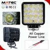 LED de elección múltiple Lighting Auto Car de Road Boat SUV ATV 48W 12V Work Light Lamp