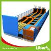 Trampoline interno personalizado parede de escalada dos adultos longos de Liben