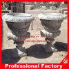 Garten-Vasen-Stein geschnitzter Pflanzer-Marmor-GranitFlowerpot