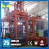 Maquinaria automática hidráulica del moldeado del bloque de cemento del material de construcción