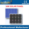 30W Solar Panels Price List Street Light Panel Solar Kit Panel con Battery