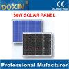 panneau solaire de kit de panneau de réverbère de listes des prix des panneaux solaires 30W avec la batterie