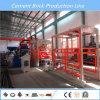 Solución de llavero de la fuente para la máquina de fabricación de ladrillo del bloque de cemento
