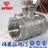 Válvula de esfera do aço inoxidável 2PC de Scs13A 20k