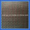 Rotes Gewinde-Silber-Draht-Kohlenstoff-Faser-Tuch