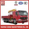 12 Tonnen XCMG Kran-LKW Sinotruk HOWO 6X4 LKW eingehangene Kran-für Verkauf