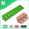 Chaîne de convoyeur en plastique antidérapante supérieure de lamelle d'OIN de GV (820k325anti-skid)