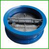 Oblate-Prüfung-Ventil-Doppeltes Tür-Platten-Rückschlagventil