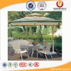 Rattan que janta cadeiras e tabela do jardim com guarda-chuva (UL-690)