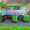 Cabine de alumínio versátil reusável portátil da exposição da venda quente nova da forma