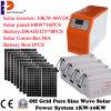 système se produisant solaire de panneau solaire du système 10000W avec l'inverseur Batetry