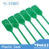 Tirar de la etiqueta plástica modificada para requisitos particulares disponible apretada del sello (YL-S380T)
