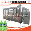 Máquina de rellenar carbonatada botella automática de la bebida del animal doméstico